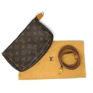 Louis Vuitton Pochette Accessories  long strap
